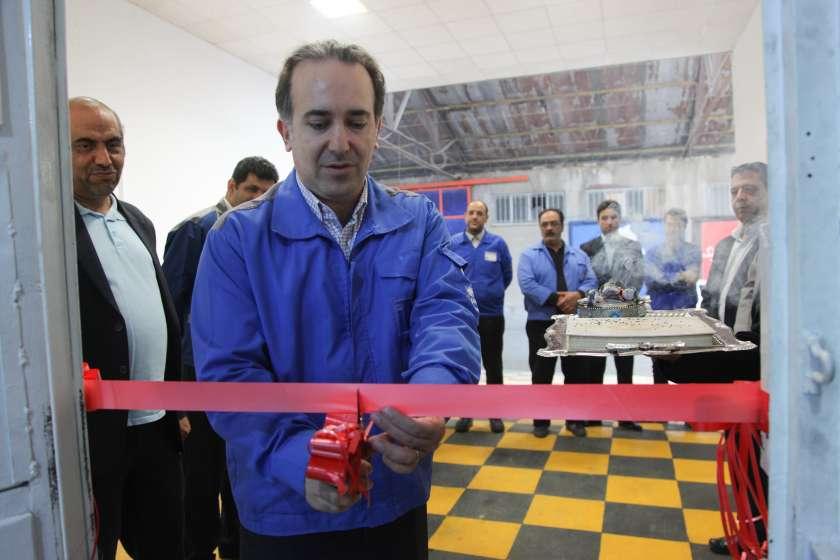 افتتاح مجهزترین مرکز تخصصی تعمیر و بازسازی گیربکس های اتوماتیک محصولات ایران خودرو در غرب تهران